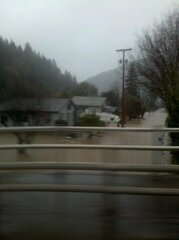 Mapleton Flooding at High Tide