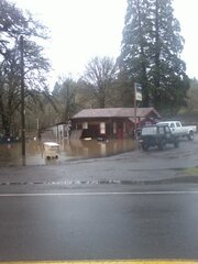 Flooding in Philomath