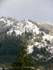 Snowy days in Myrtle Creek, Oregon