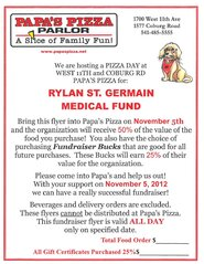Rylan St.Germain Medical Fundraiser
