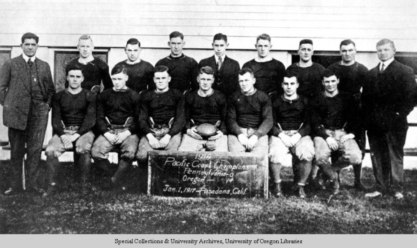 1917 Rose Bowl Conference Champs