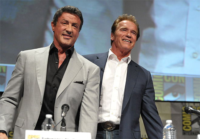 2012 Comic Con – The Expendables Panel