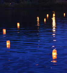 Floating Candle ceremony