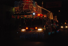 First Place In the Lighted Truck Parade