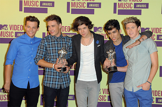 2012 MTV Video Music Awards - Press Room