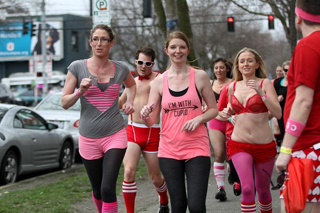 2013 Cupid Undie Run Seattle