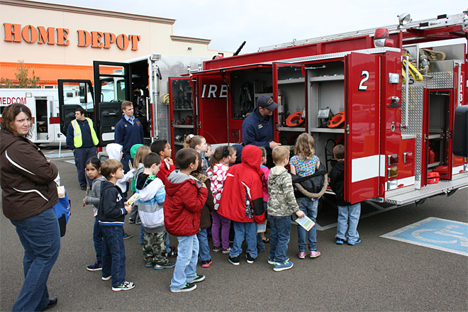 Fire Prevention Fair: 'The field trip is always nice for the kids'