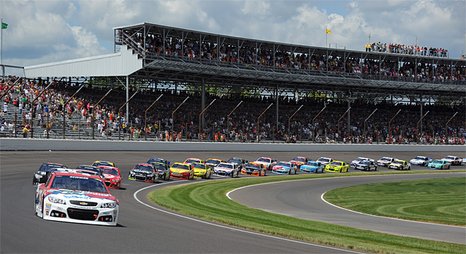 NASCAR Brickyard 400 Auto Racing