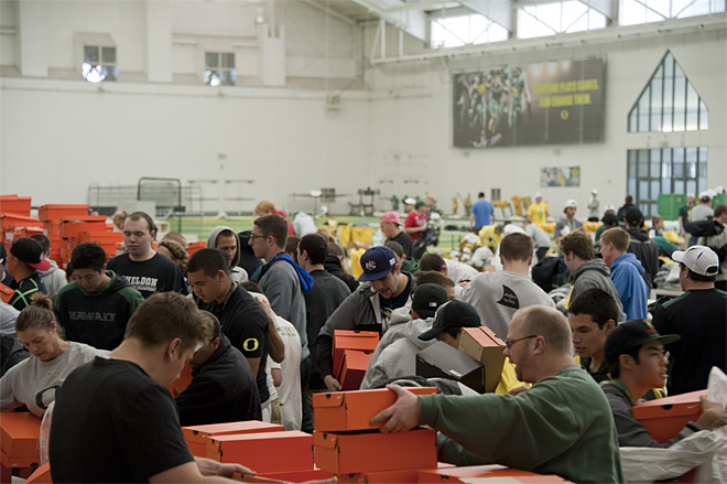 2013 Oregon Athletics Surplus Sale 14 - Photo by Tristan Fortsch_KVAL News
