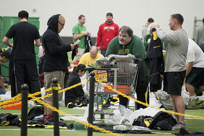 2013 Oregon Athletics Surplus Sale 44 - Photo by Tristan Fortsch_KVAL News