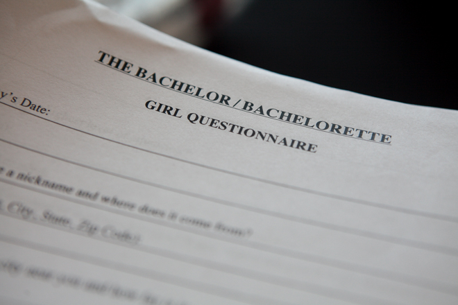 The Bachelor and The Bachelorette Casting Calls
