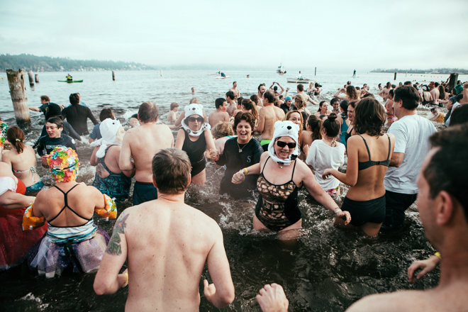 12th Annual Matthews Beach Polar Bear Plunge
