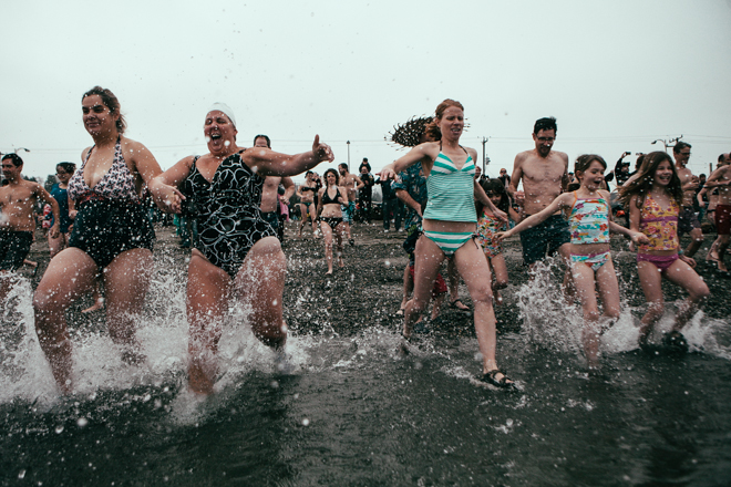 5th Annual Alki Beach Polar Bear Plunge