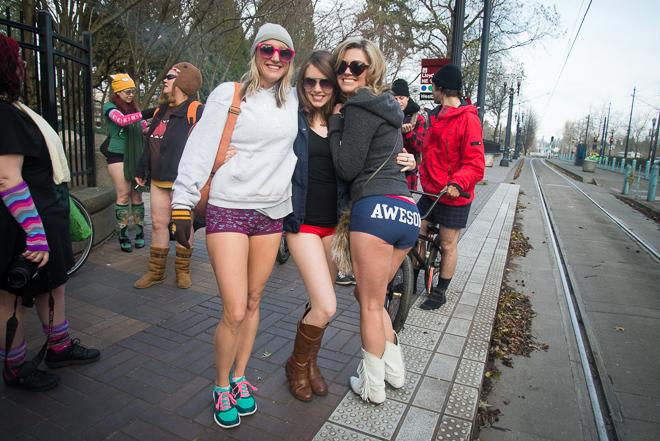 Global No Pants Ride PDX 2013