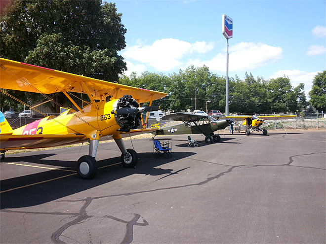History comes in for a landing in Cottage Grove