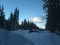Epic Snow at Willamette Pass Dec 30 2010