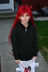 My Little Devil Trick or Treating