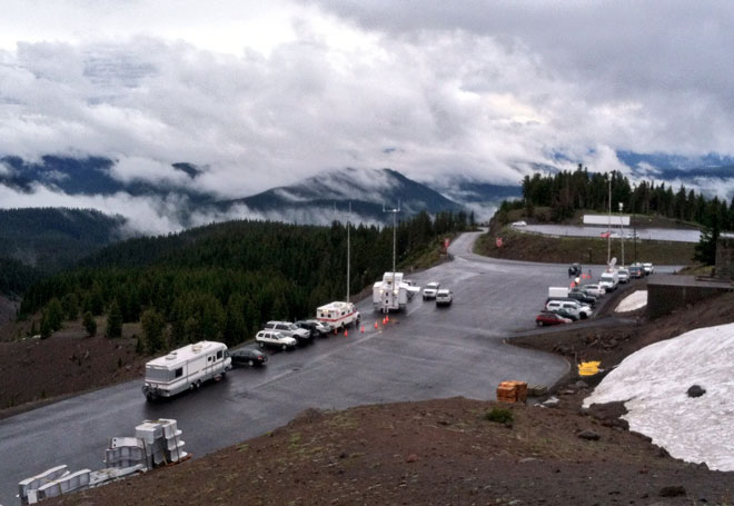 Mount Hood climber rescue