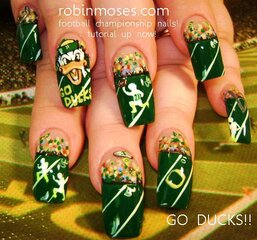 duck nails from duck fans!