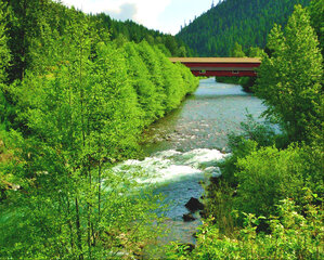 Office Covered Bridge-Westfir