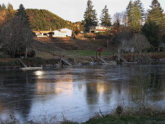 Frozen River comes again to Mapleton, OR
