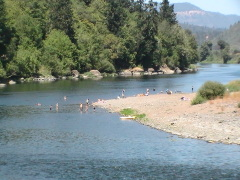 day on the umpqua river