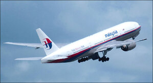 Where is Malaysia Air flight MH370?