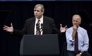 Sen. Jeff Merkley speech with VP Biden - Portland, Ore., Oct. 8, 2014