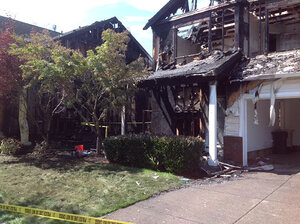Family escapes Corvallis house fire with 30-foot flames