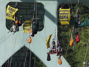 Judge: Greenpeace will be fined $2,500/hour if protest continues