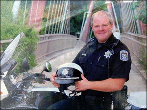 Flags mark 3 years since Officer Kilcullen's death