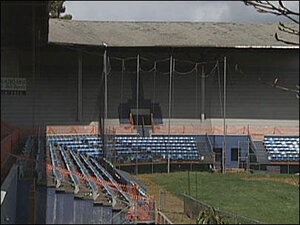 'Today we mourn its loss': Owners on Civic Stadium fire