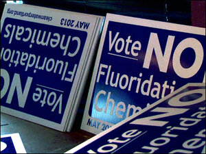 Portland rejects fluoride but both sides may meet again