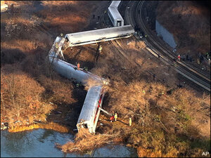 NYC train wreck could be case of highway hypnosis