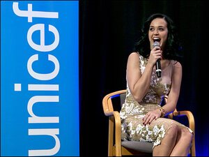 Katy Perry is newest UNICEF goodwill ambassador