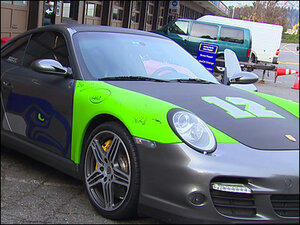 Seahawks fans taking team pride to their rides