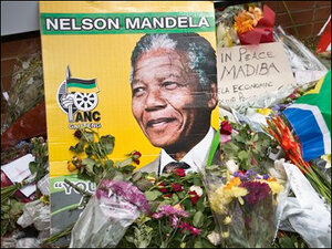 Massive crowds, world leaders to honor Mandela