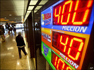Brisk sales raise Mega Millions jackpot to $425 million