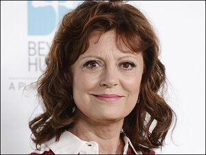 Susan Sarandon confirms David Bowie romance