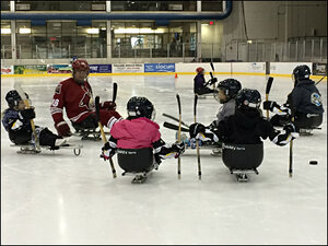 Coaching sled hockey: 'I found this and fell in love with it'