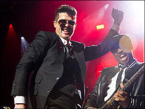 Photos: Robin Thicke in concert at Madison Square Garden