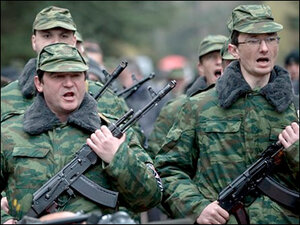 Russia reinforces military presence in Crimea