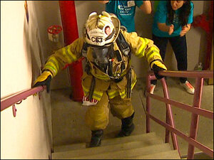 Photos: 23rd annual Firefighter Stairclimb