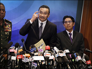 Malaysia defends search for missing Boeing 777