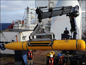 Sub search for missing jet to be finished in week