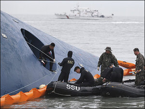 10 more bodies found inside South Korean ferry