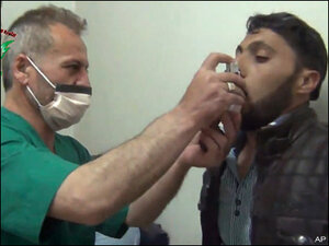 Syrian activists accuse Assad of new toxic gas attacks