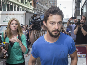 Labeouf given plea deal deadline after NYC arrest