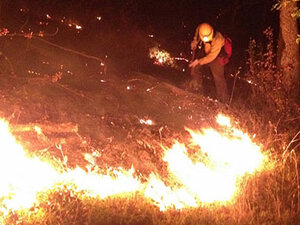 Wildland fires keep Douglas County crews busy over weekend