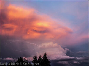 Photos: Majestic thunderstorm lights up skies over Mt. Hood
